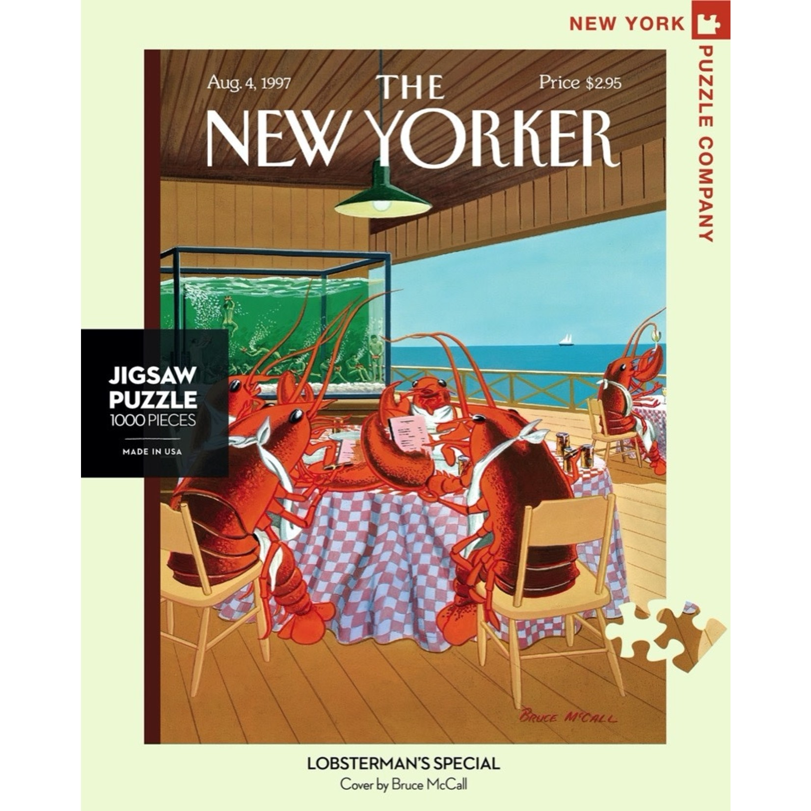 New York Puzzle Co Lobsterman's Special 1000pc