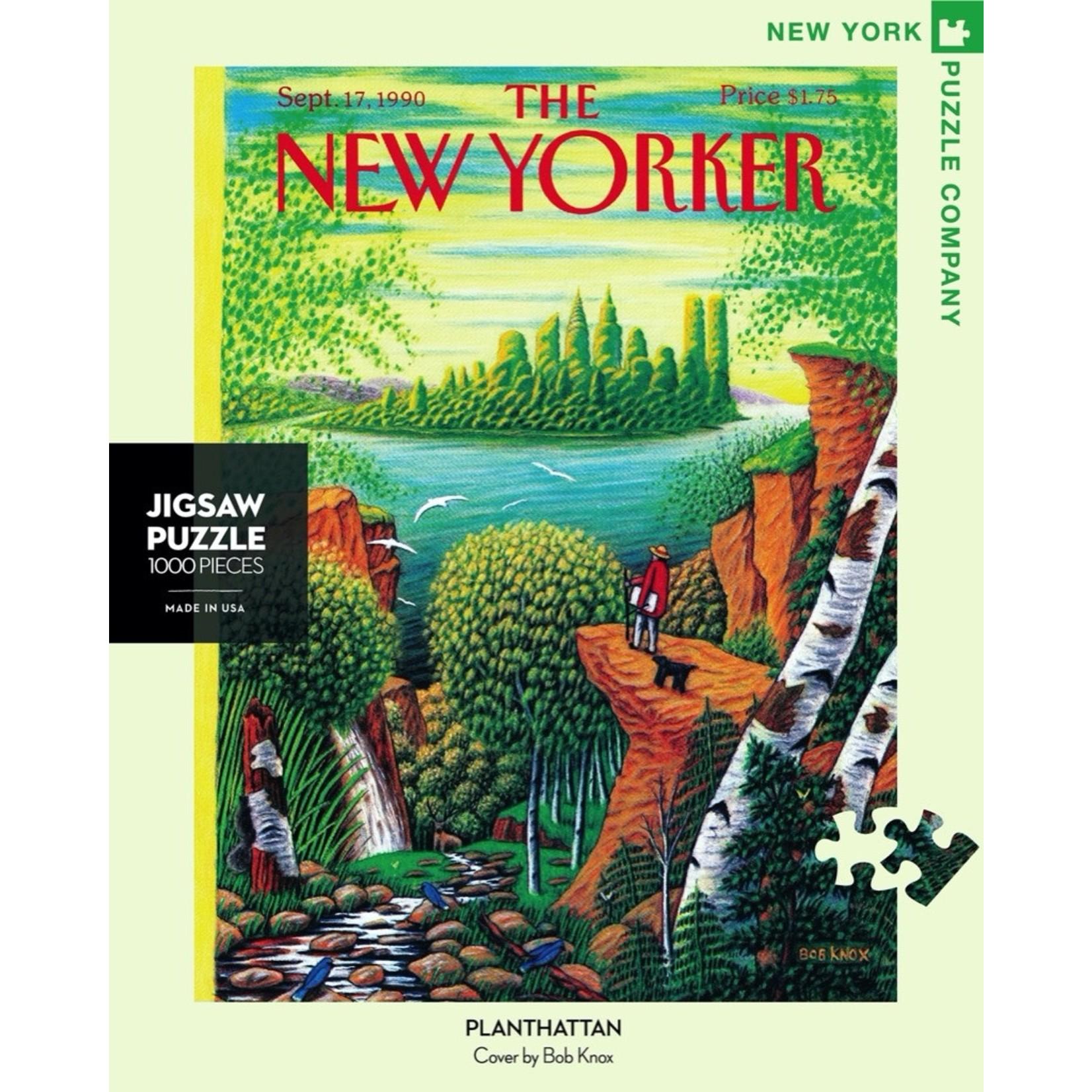 New York Puzzle Co Planthattan 1000pc