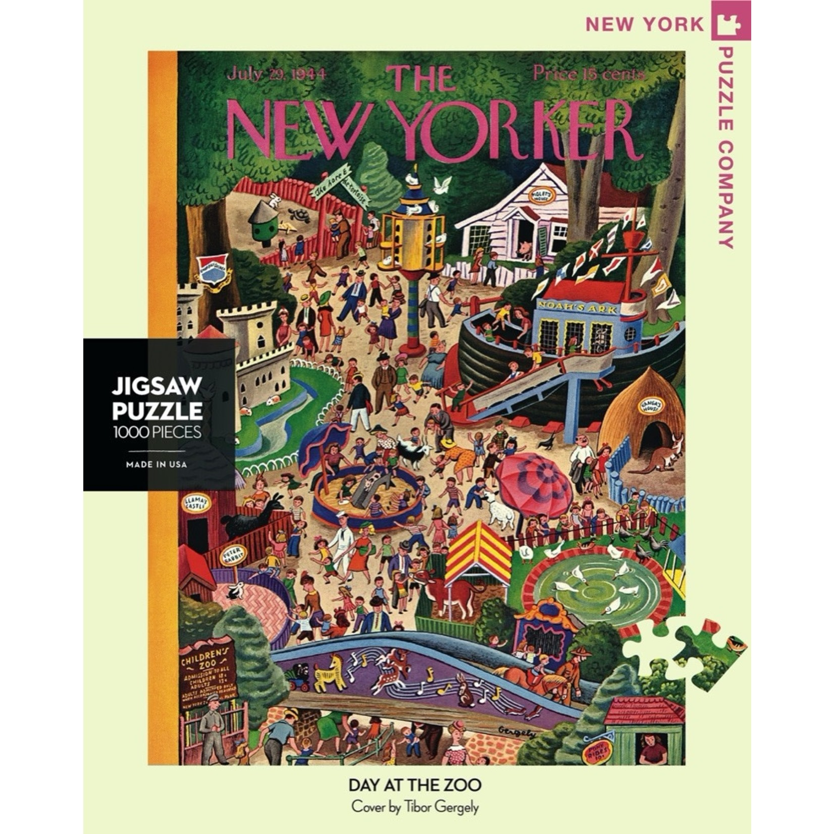 New York Puzzle Co Day at the Zoo 1000pc