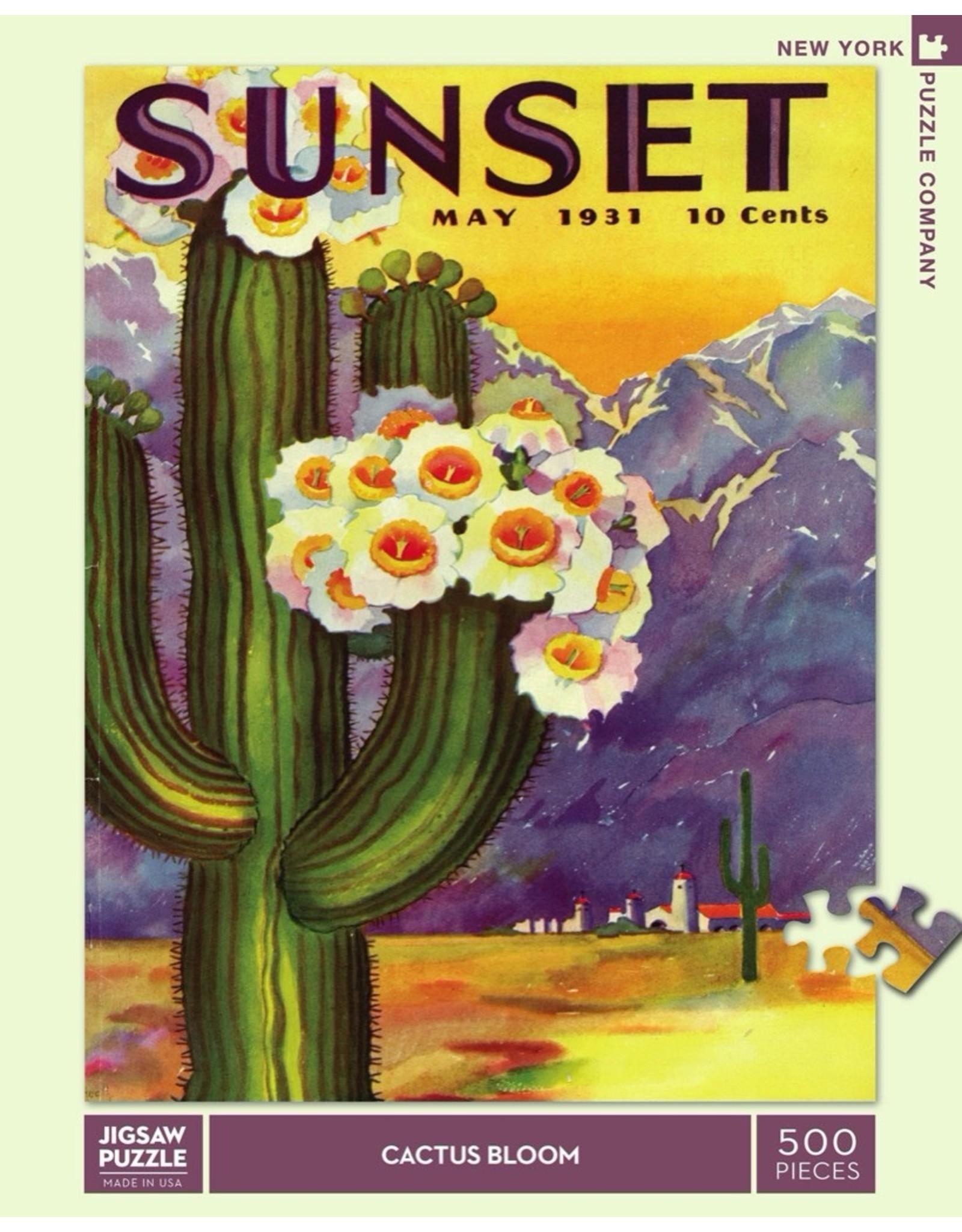 New York Puzzle Co Cactus Blooms 500pc