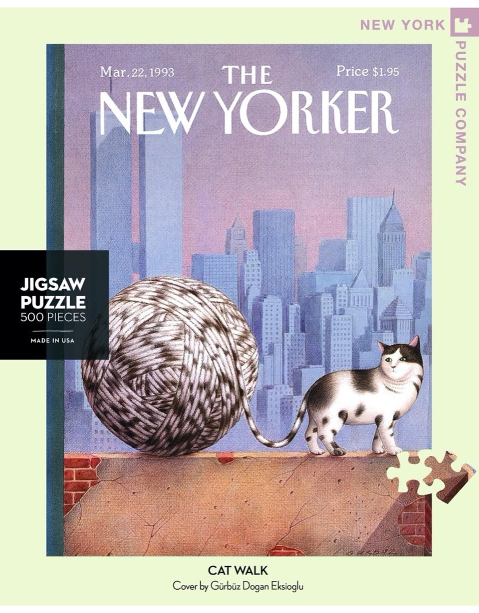 New York Puzzle Co Cat Walk 500pc