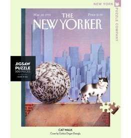 New York Puzzle Co Cat Walk 500pc