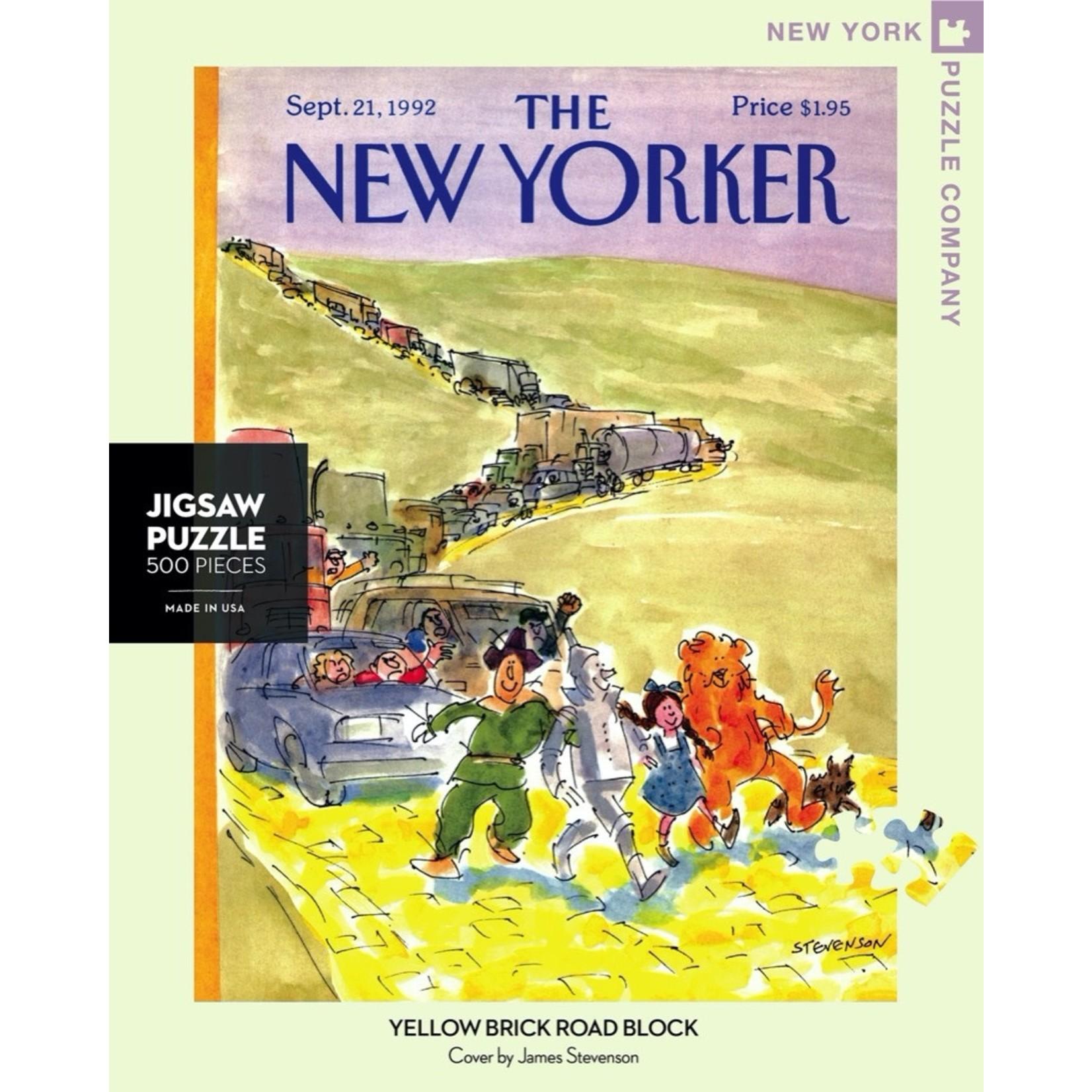 New York Puzzle Co Yellow Brick Road Block 500pc