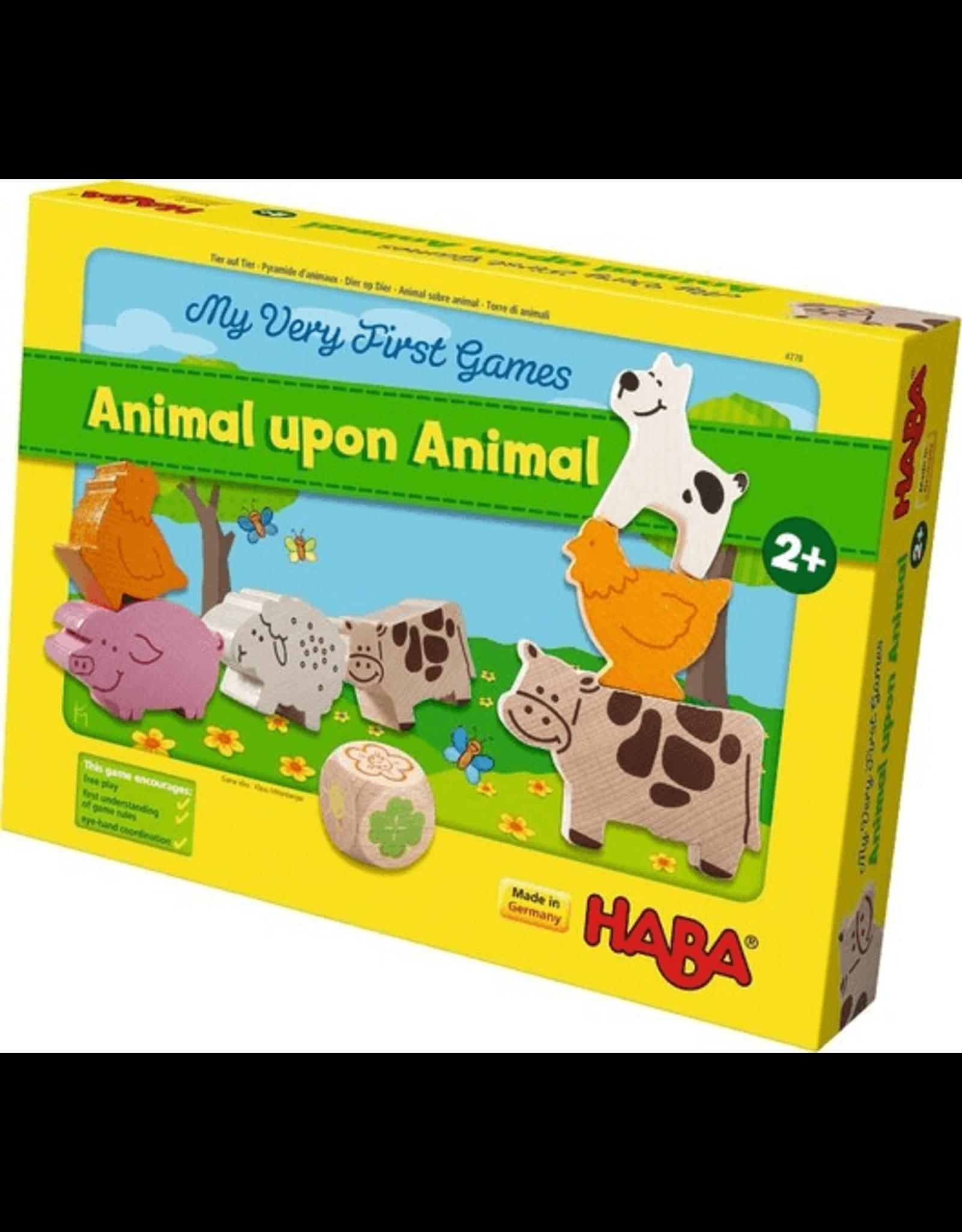 Haba Animal Upon Animal (My Very First)