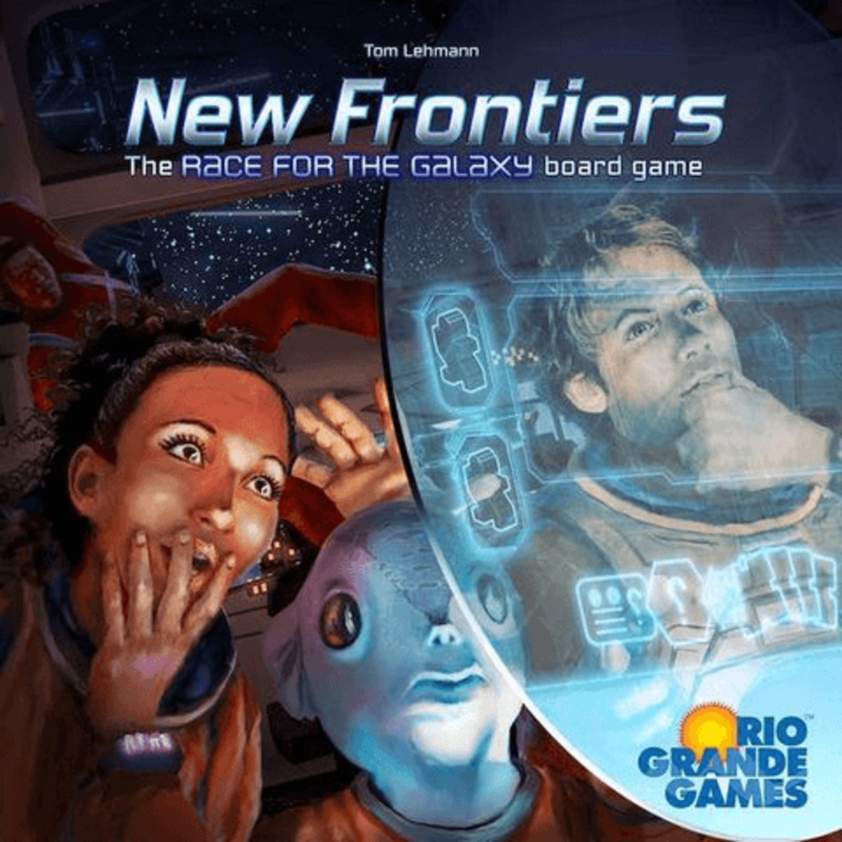Rio Grande Games New Frontiers: Race for the Galaxy BG