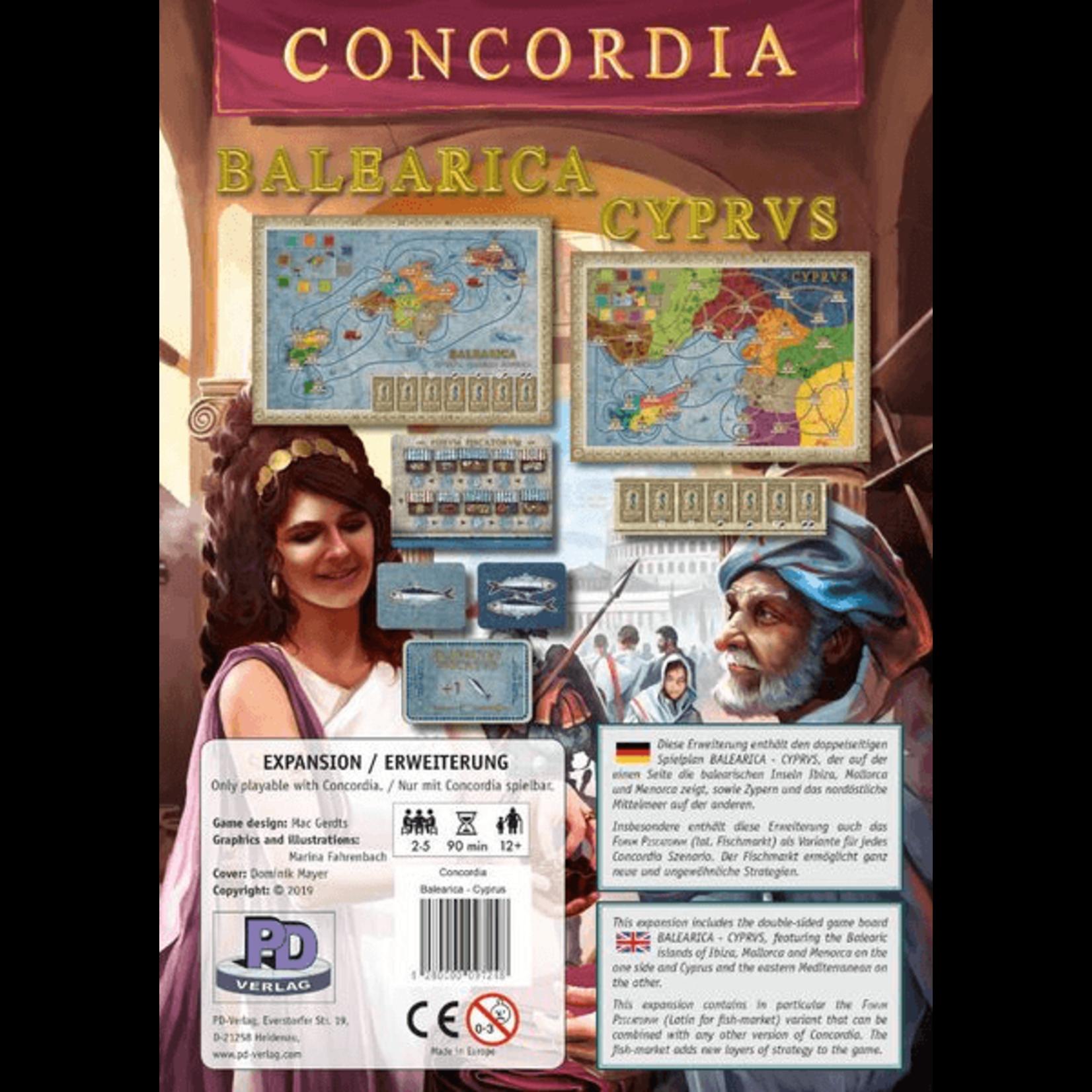 Rio Grande Games Concordia: Balearica & Cyprus Exp
