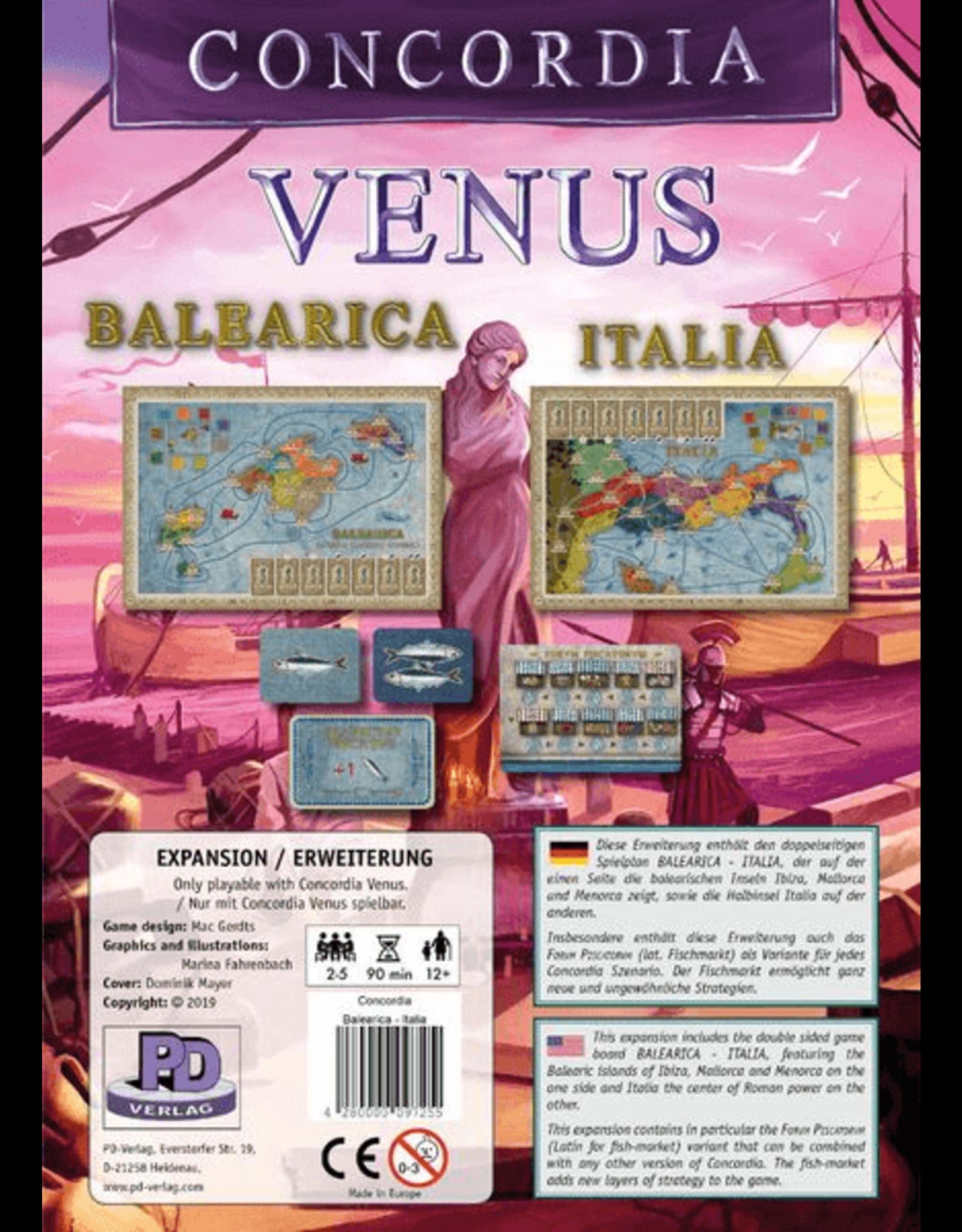 Rio Grande Games Concordia: Venus - Balearica and Italia Exp