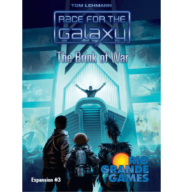 Rio Grande Games Race for the Galaxy: The Brink of War Expansion