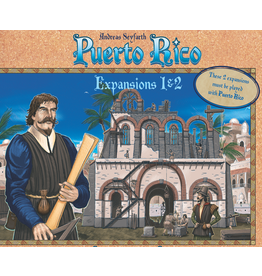 Rio Grande Games Puerto Rico Exp 1 & 2