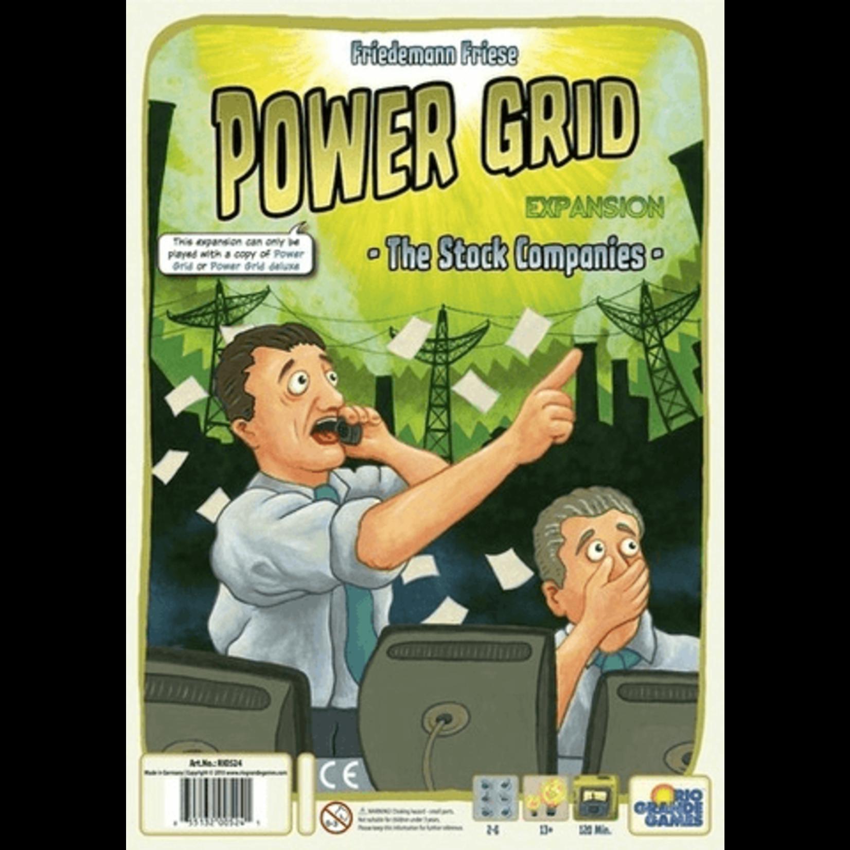 Rio Grande Games Power Grid: Stock Companies