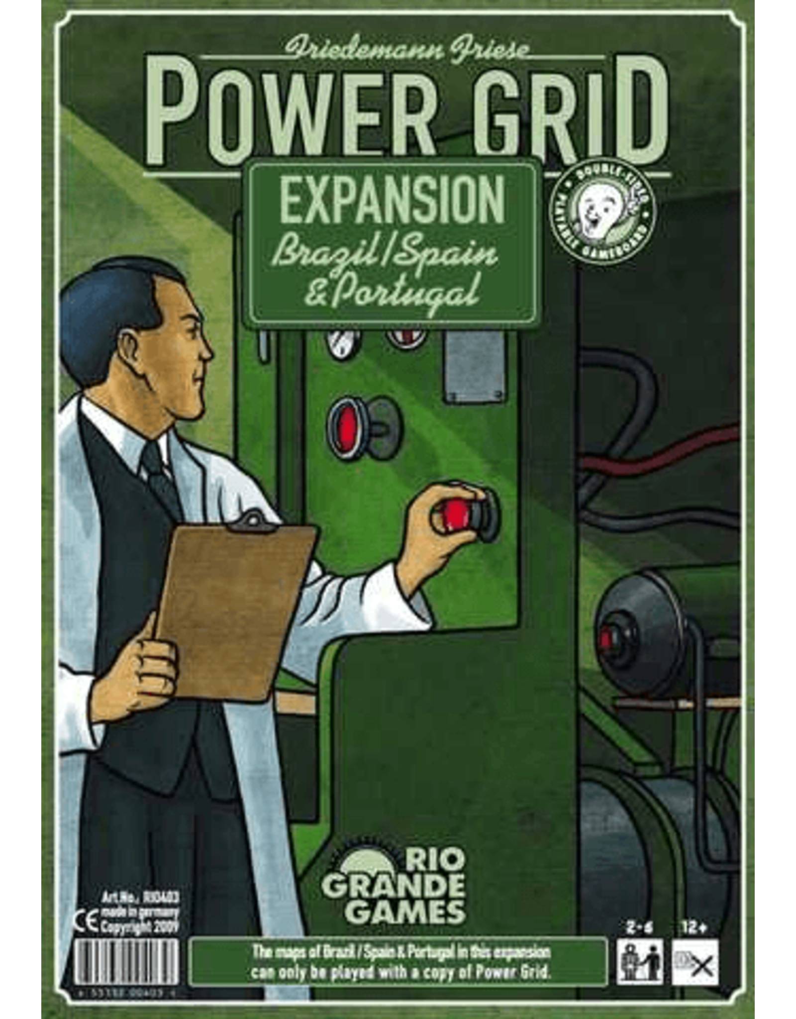 Rio Grande Games Power Grid: Brazil/Iberia Expansion