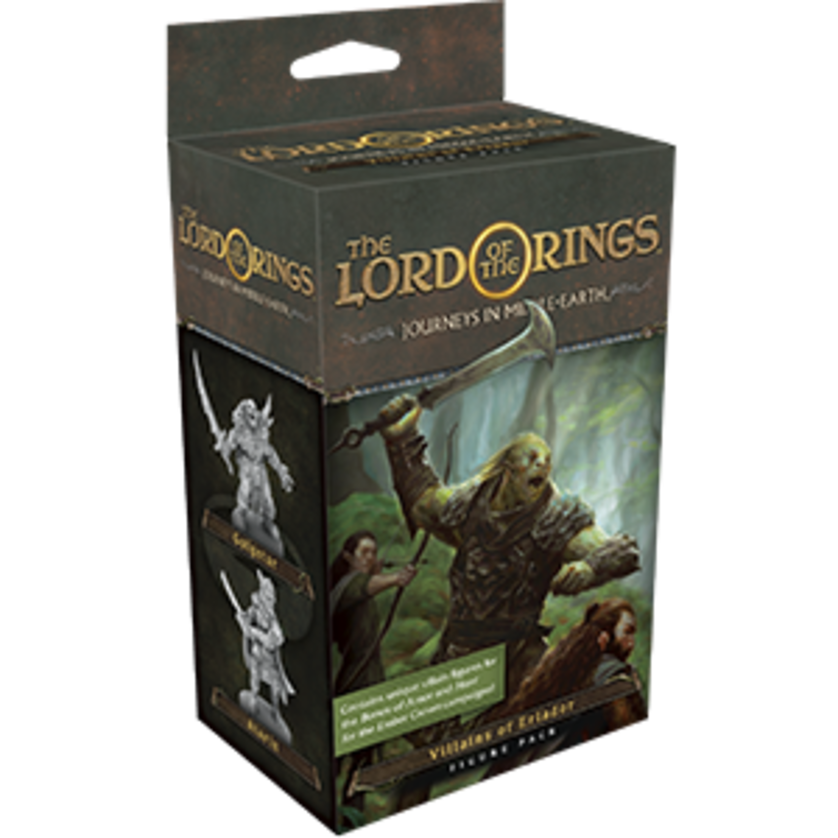 Fantasy Flight Games LOTR: Journeys in Middle Earth: Villains of Eriador