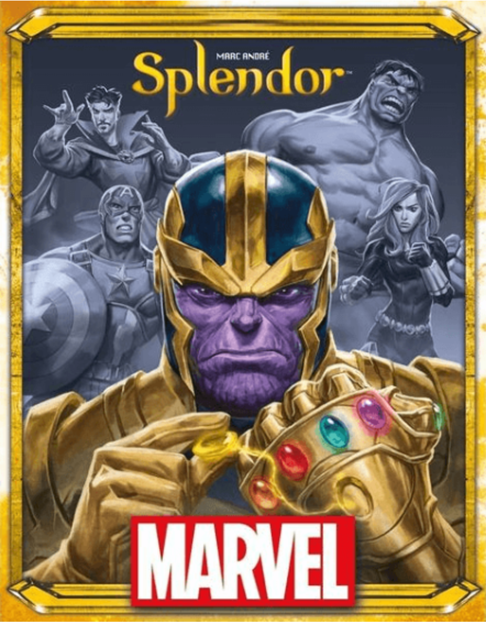 Asmodee Splendor: Marvel