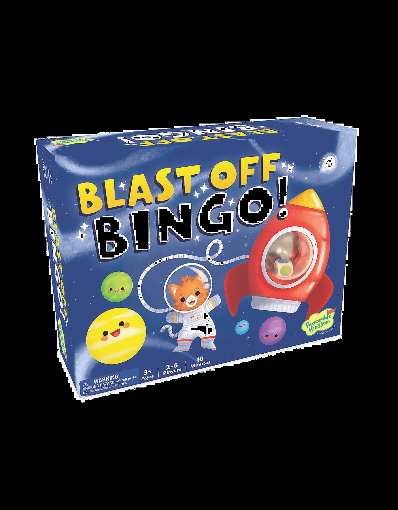Peaceable Kingdom Blast off, Bingo!