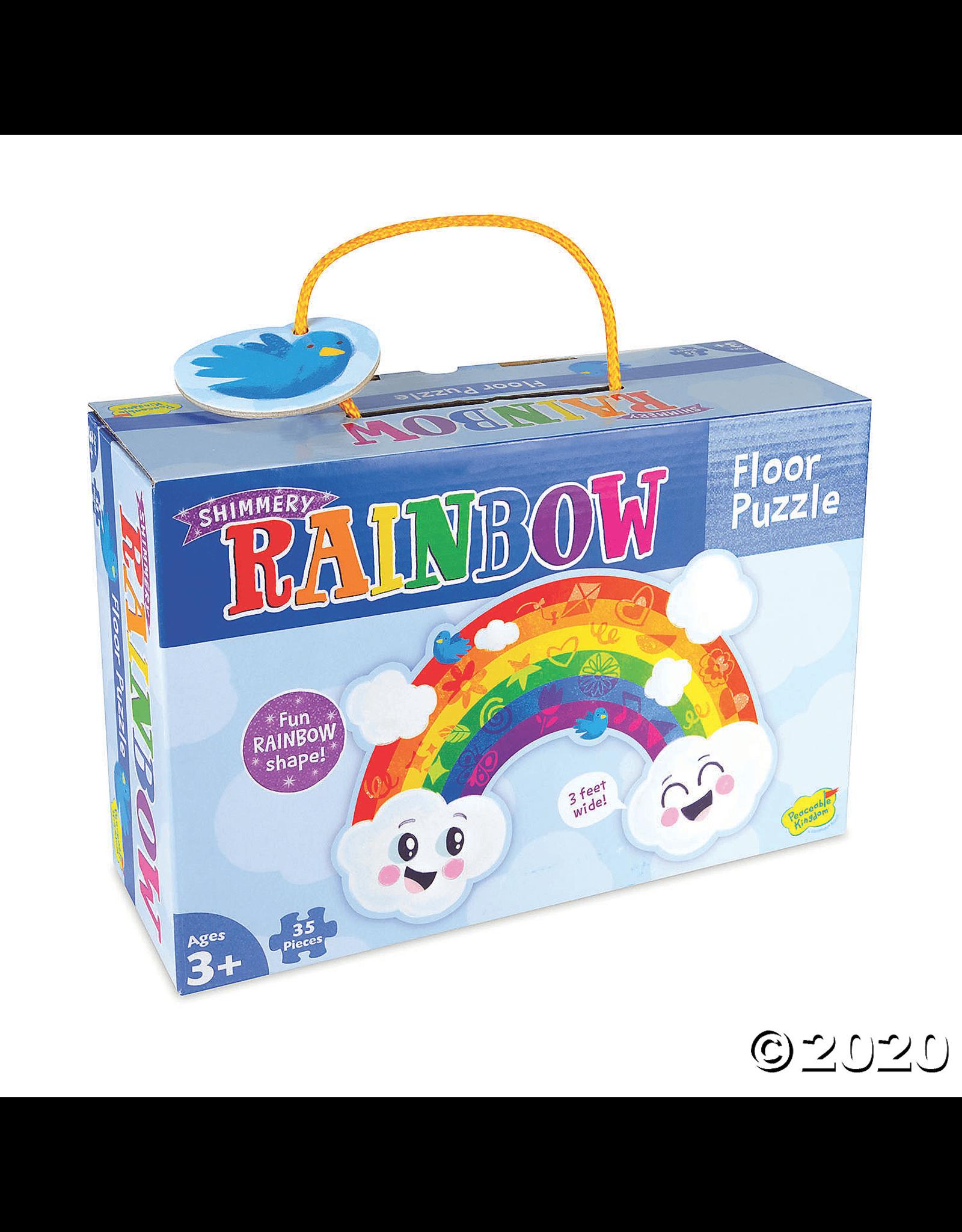 Peaceable Kingdom Rainbow 35pc