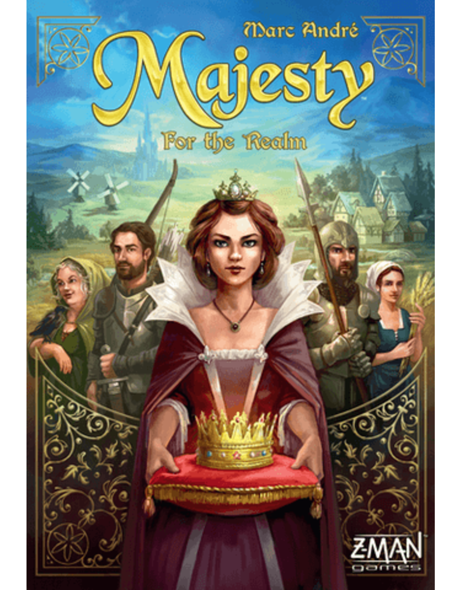 Z-Man Games Majesty: For the Realm