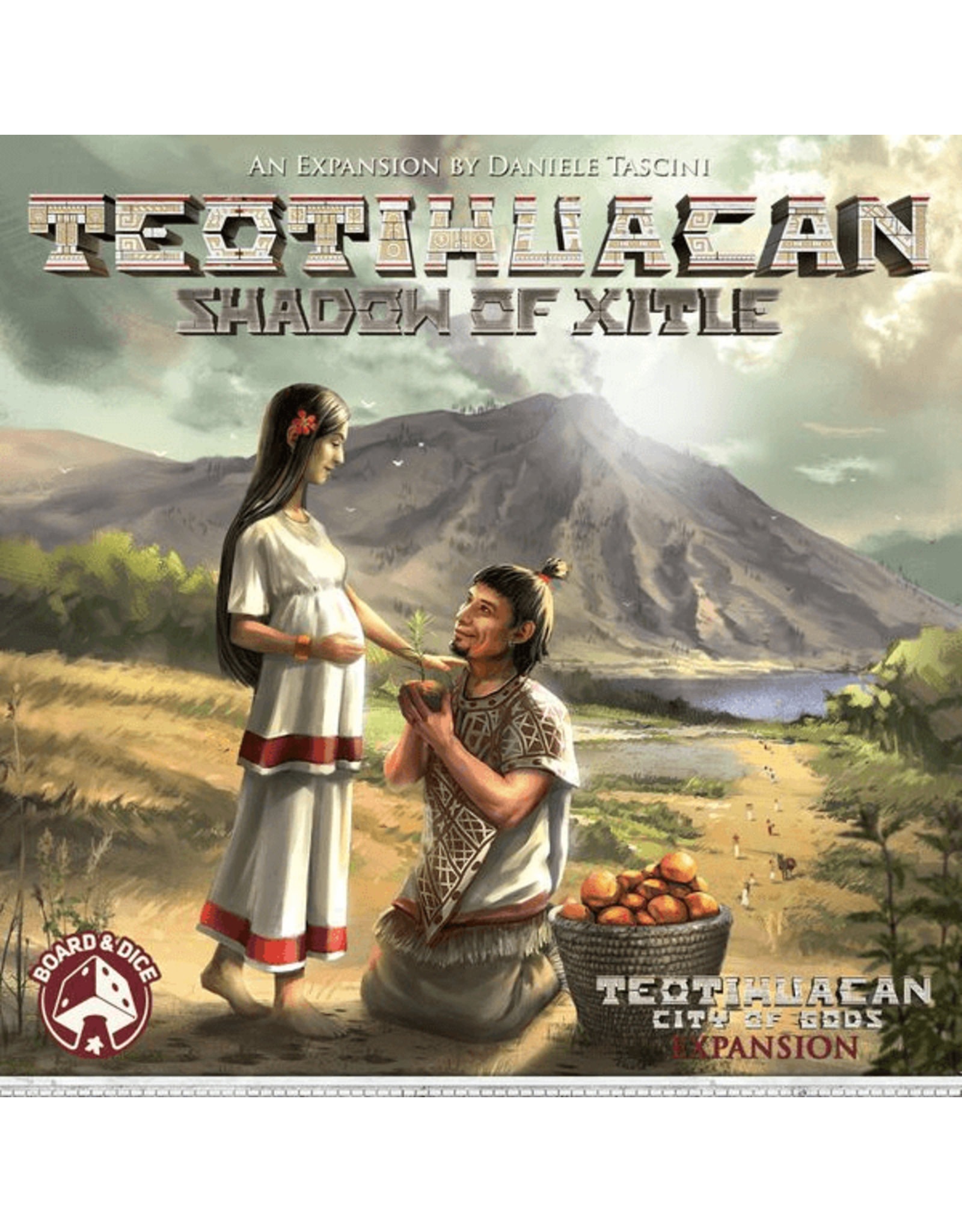 Board & Dice Teotihuacan: Shadow of Xitle Exp
