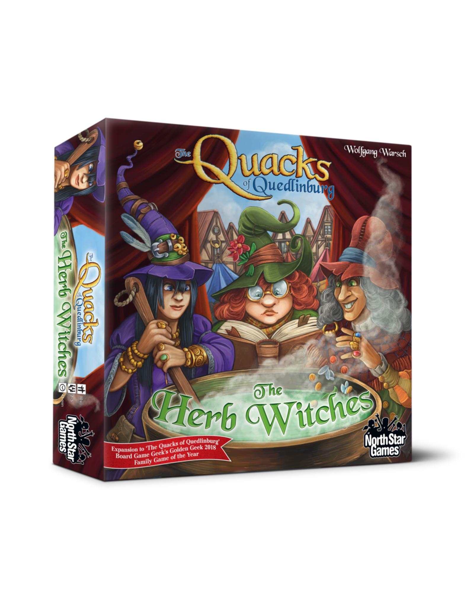 North Star Games Quacks: Herb Witches Expansion