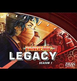 Z-Man Games Pandemic: Legacy S1 Red