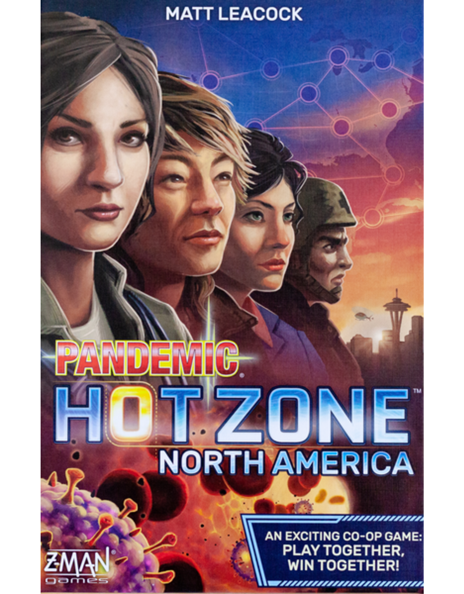 Z-Man Games Pandemic: Hot Zone