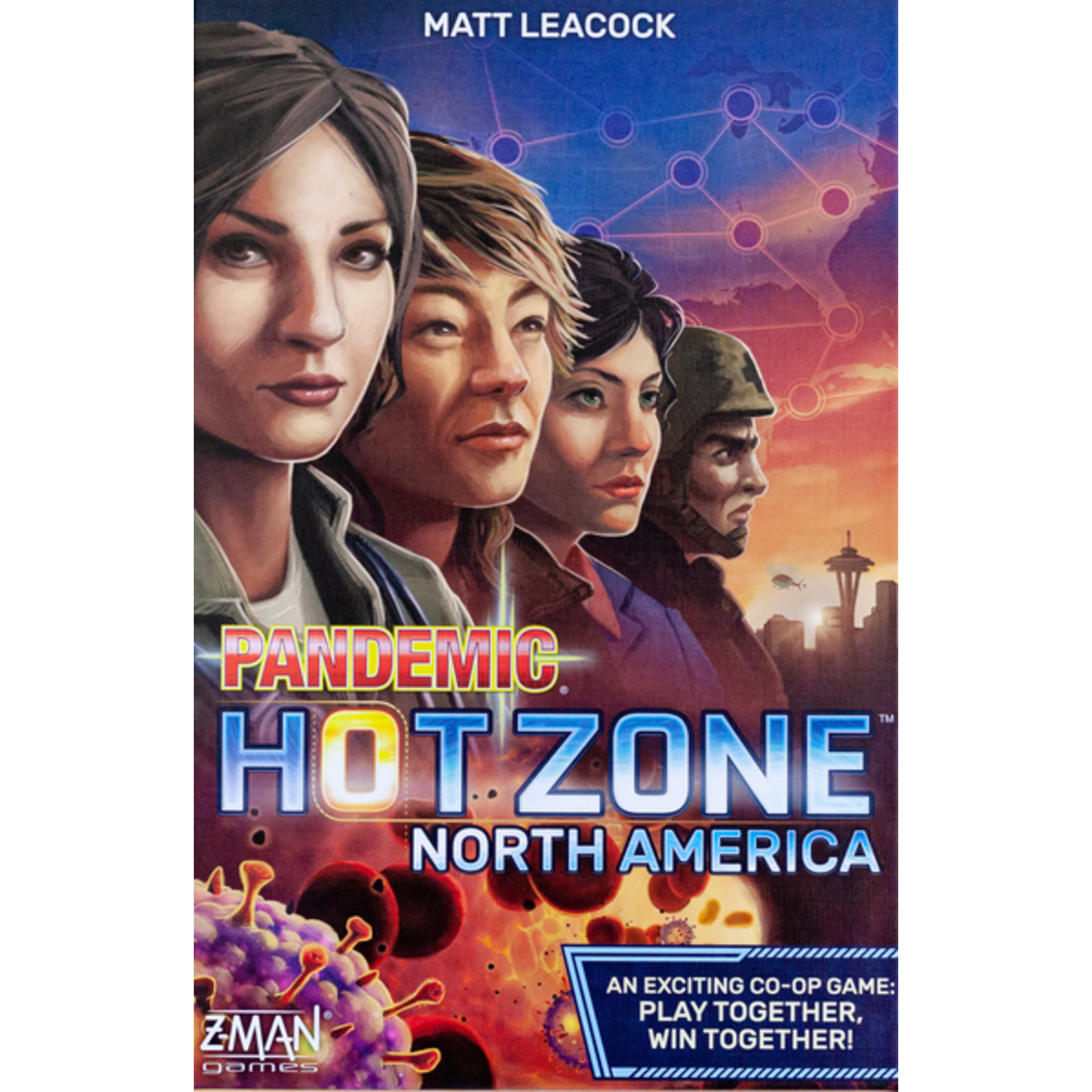 Z-Man Games Pandemic: Hot Zone