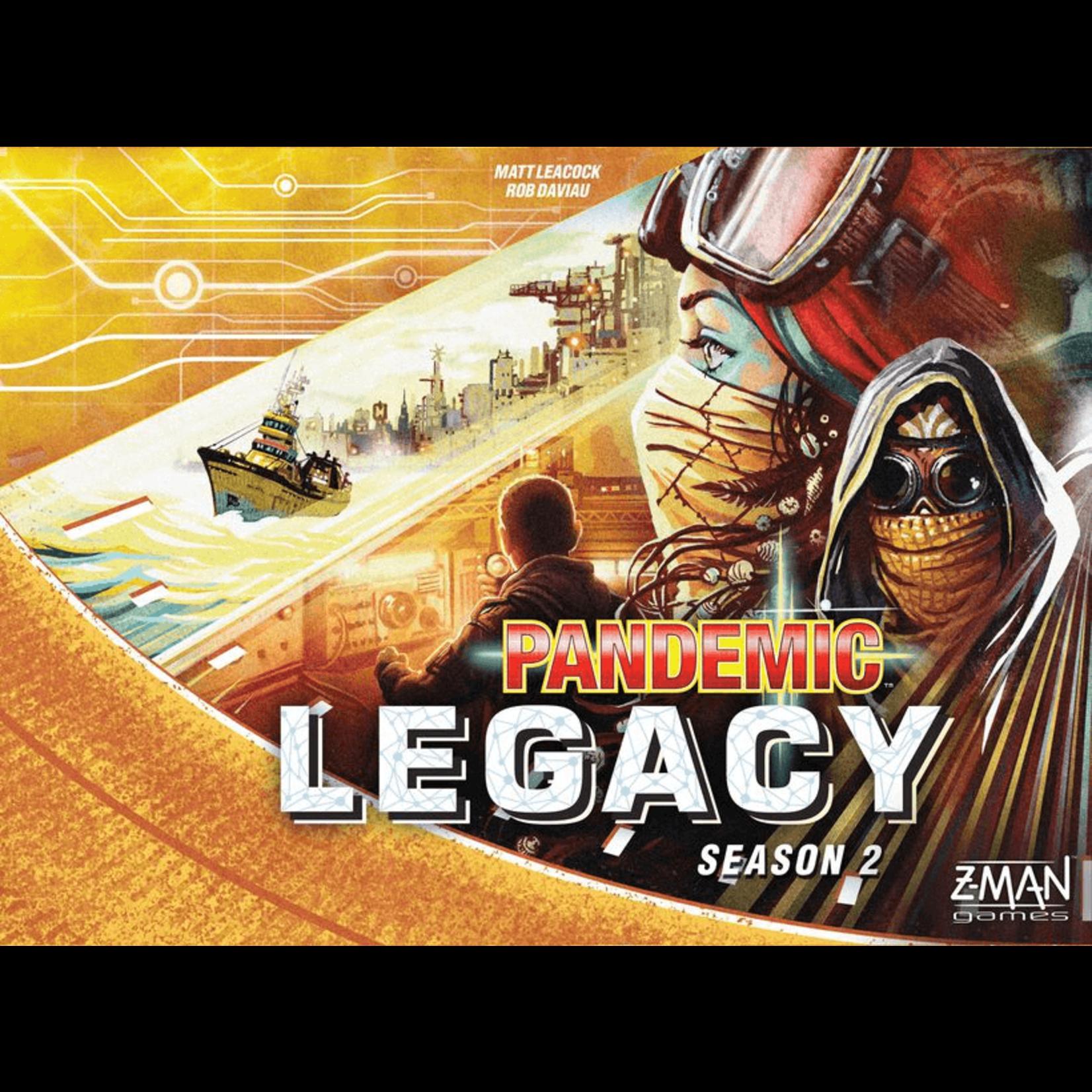 Z-Man Games Pandemic: Legacy S2 Yellow