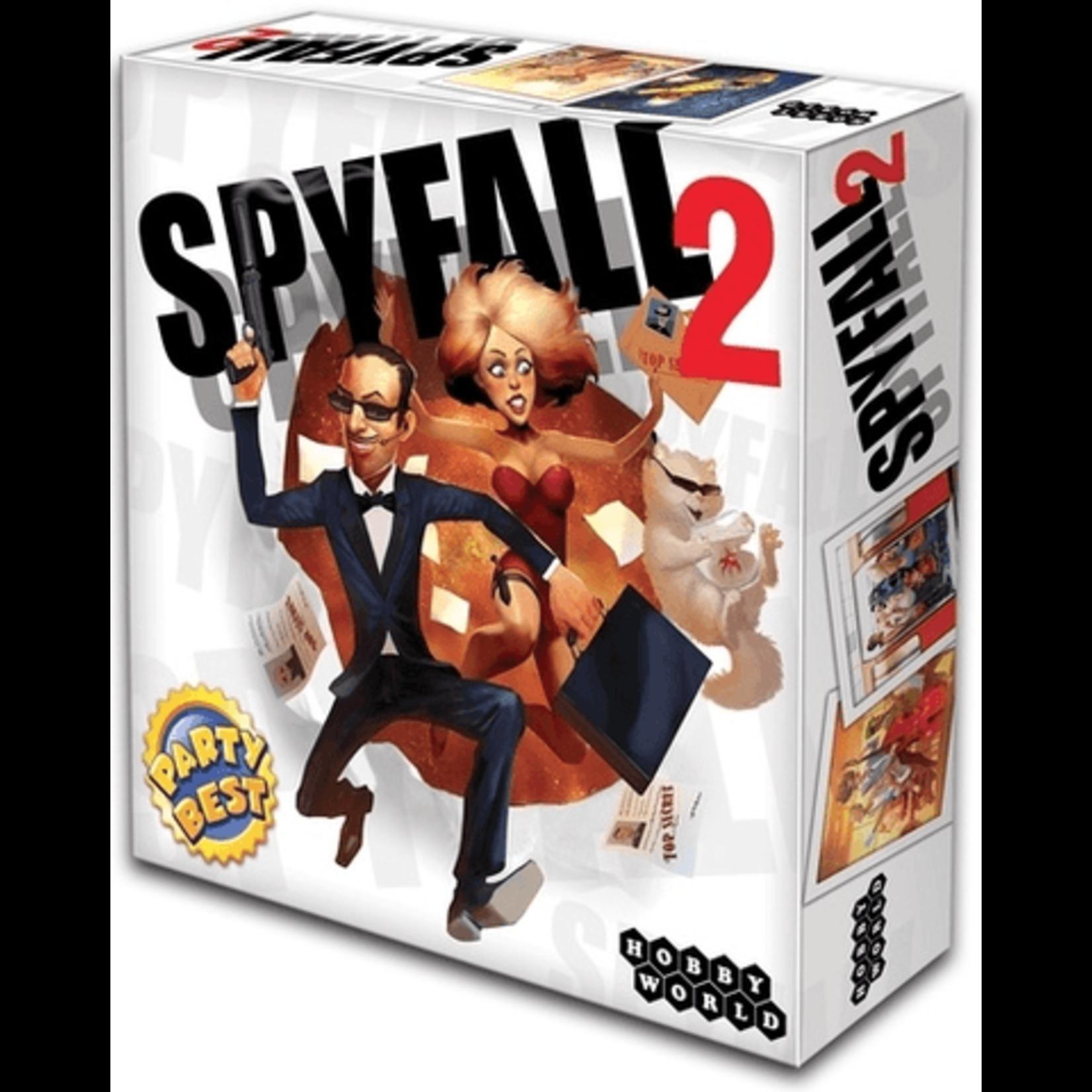 Cryptozoic Spyfall 2