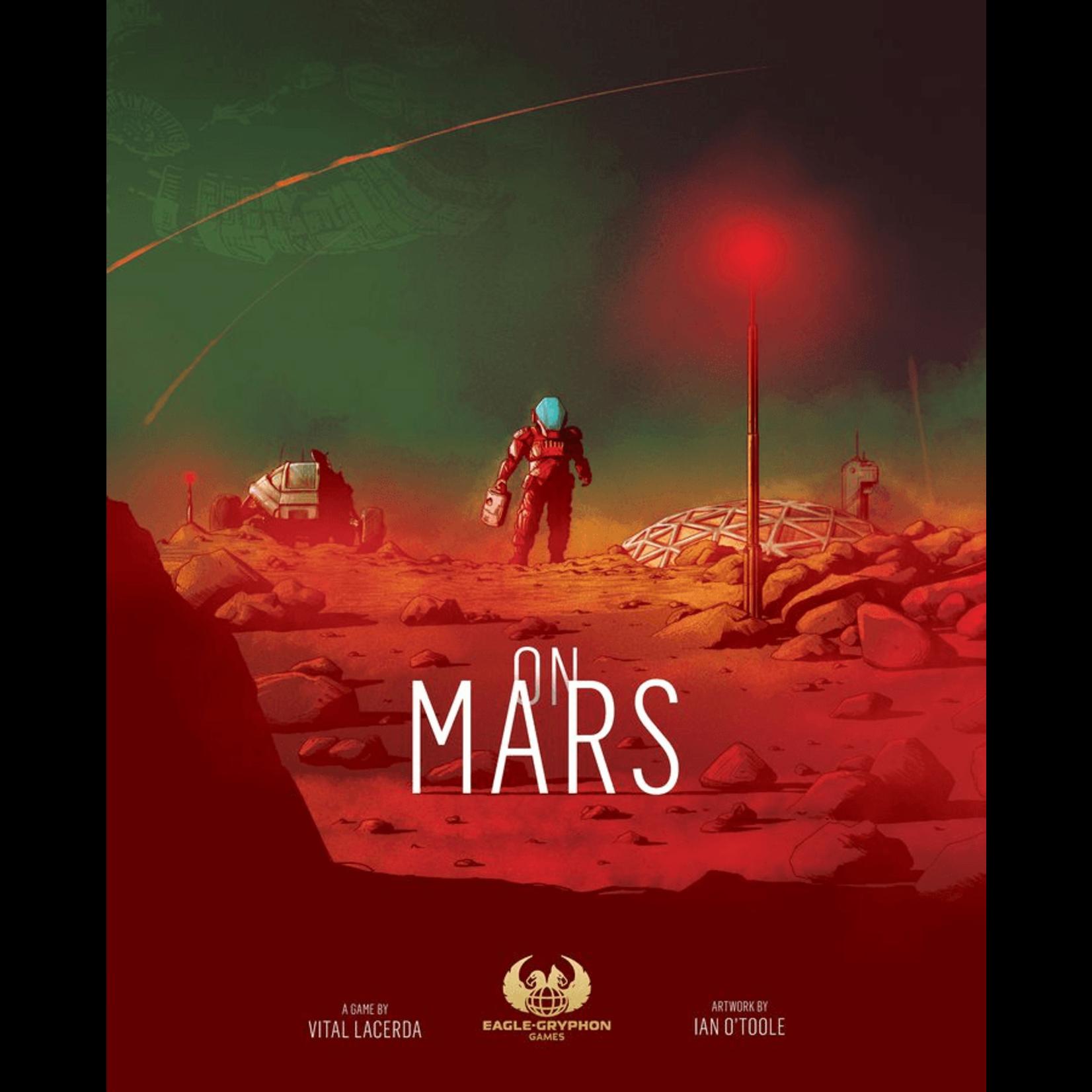 Eagle-Gryphon On Mars