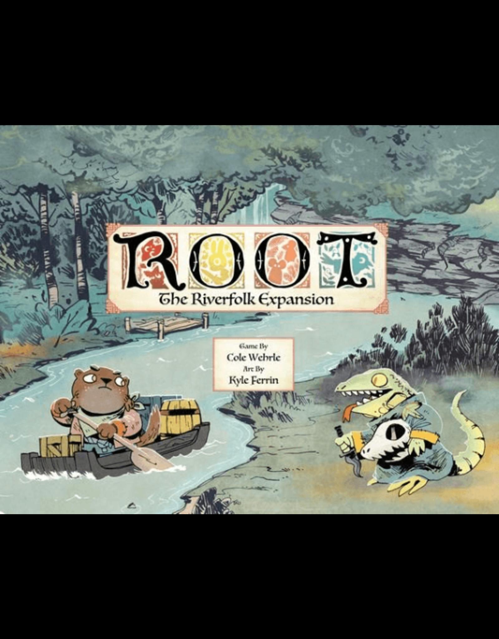 Leder Games Root: Riverfolk Exp