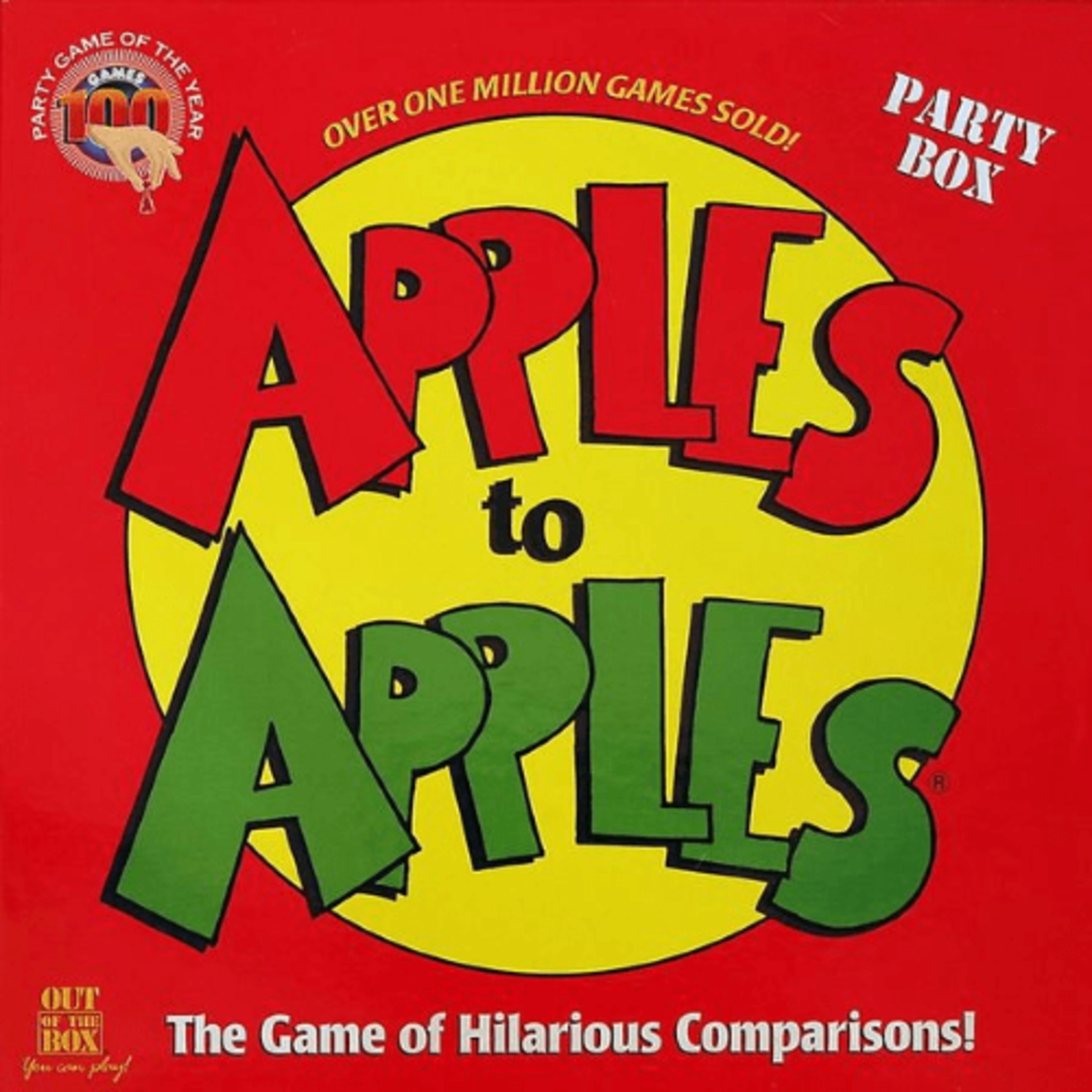 Mattel Apples to Apples: Party Box