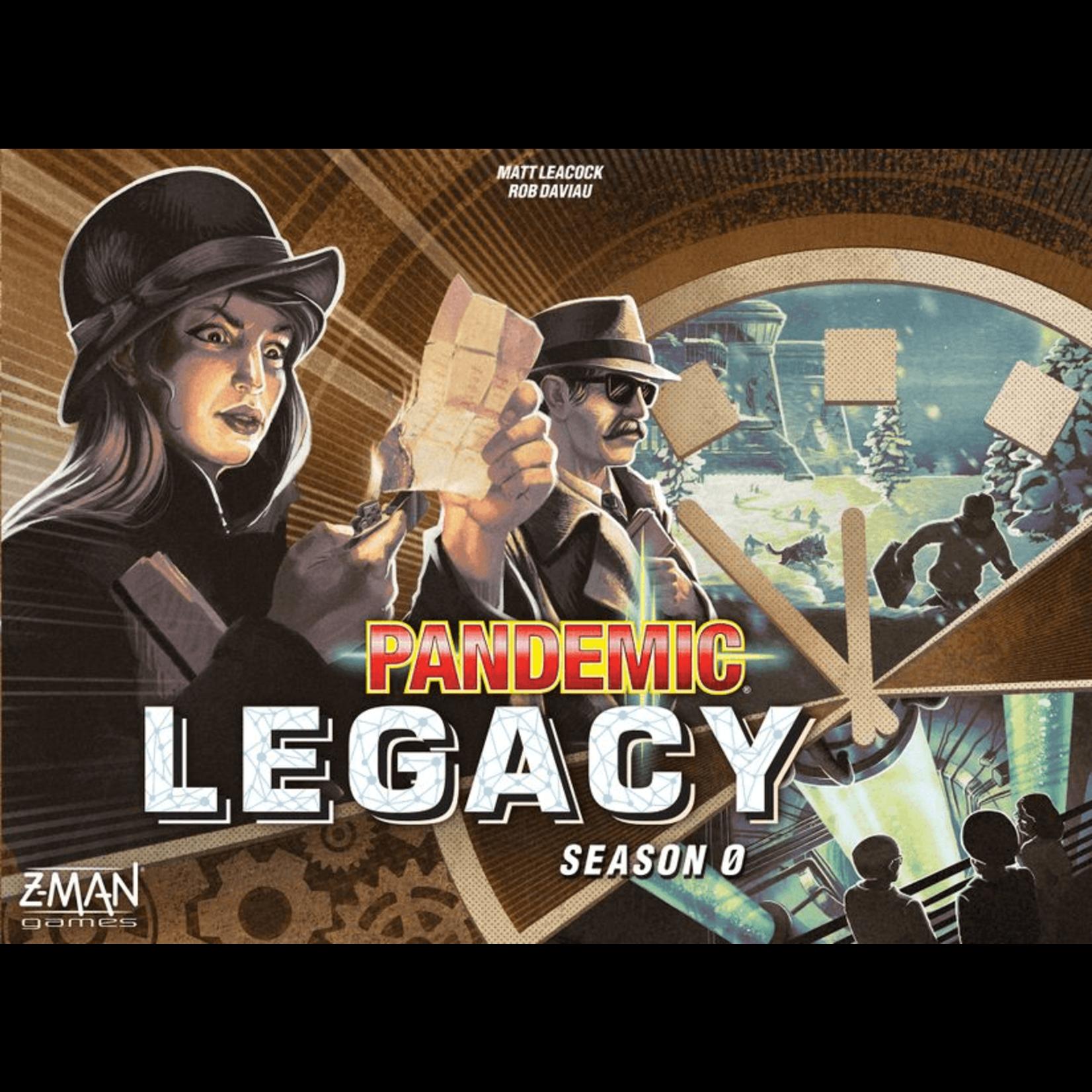 Z-Man Games Pandemic Legacy: S0
