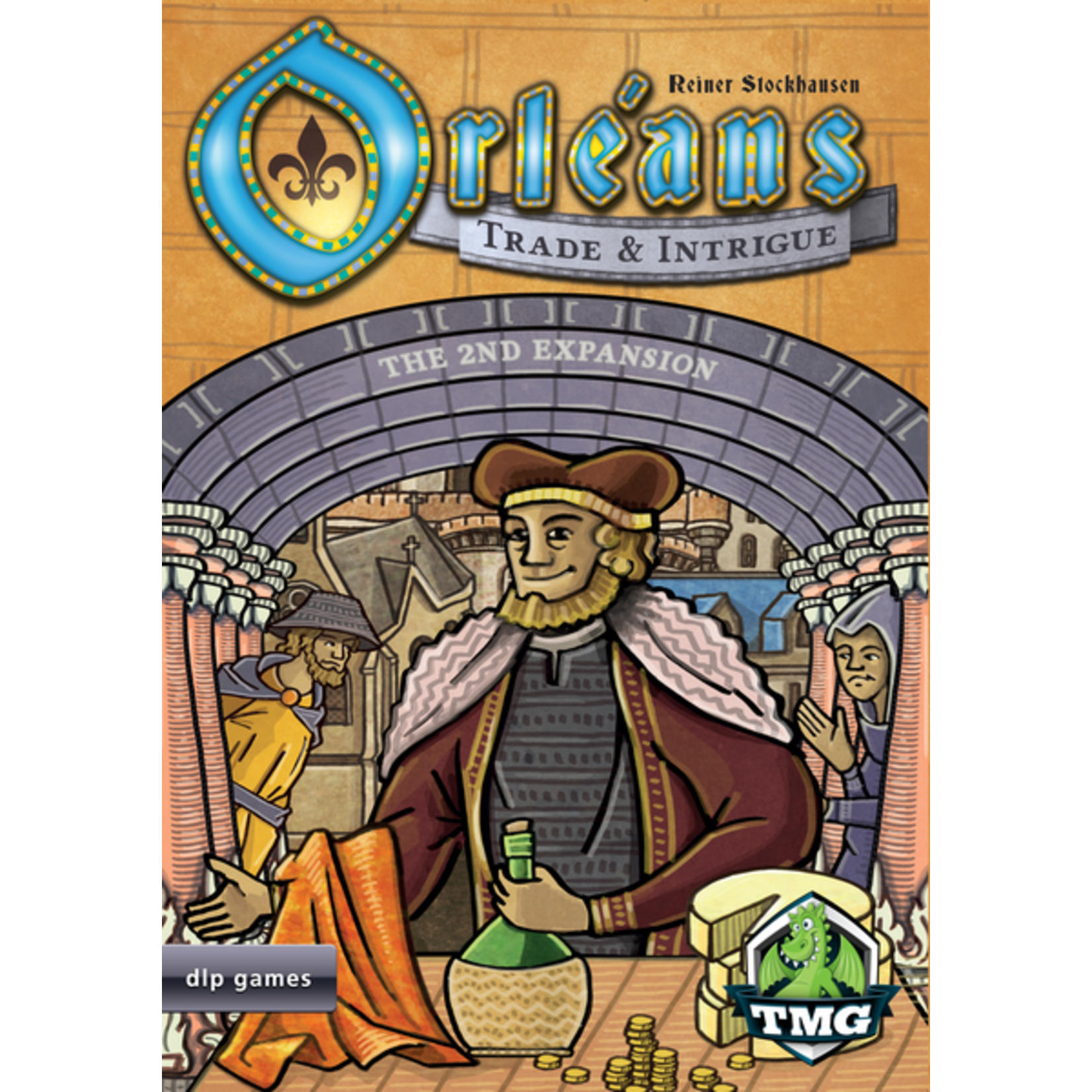 Tasty Minstrel Games Orleans: Tradel & Intrige