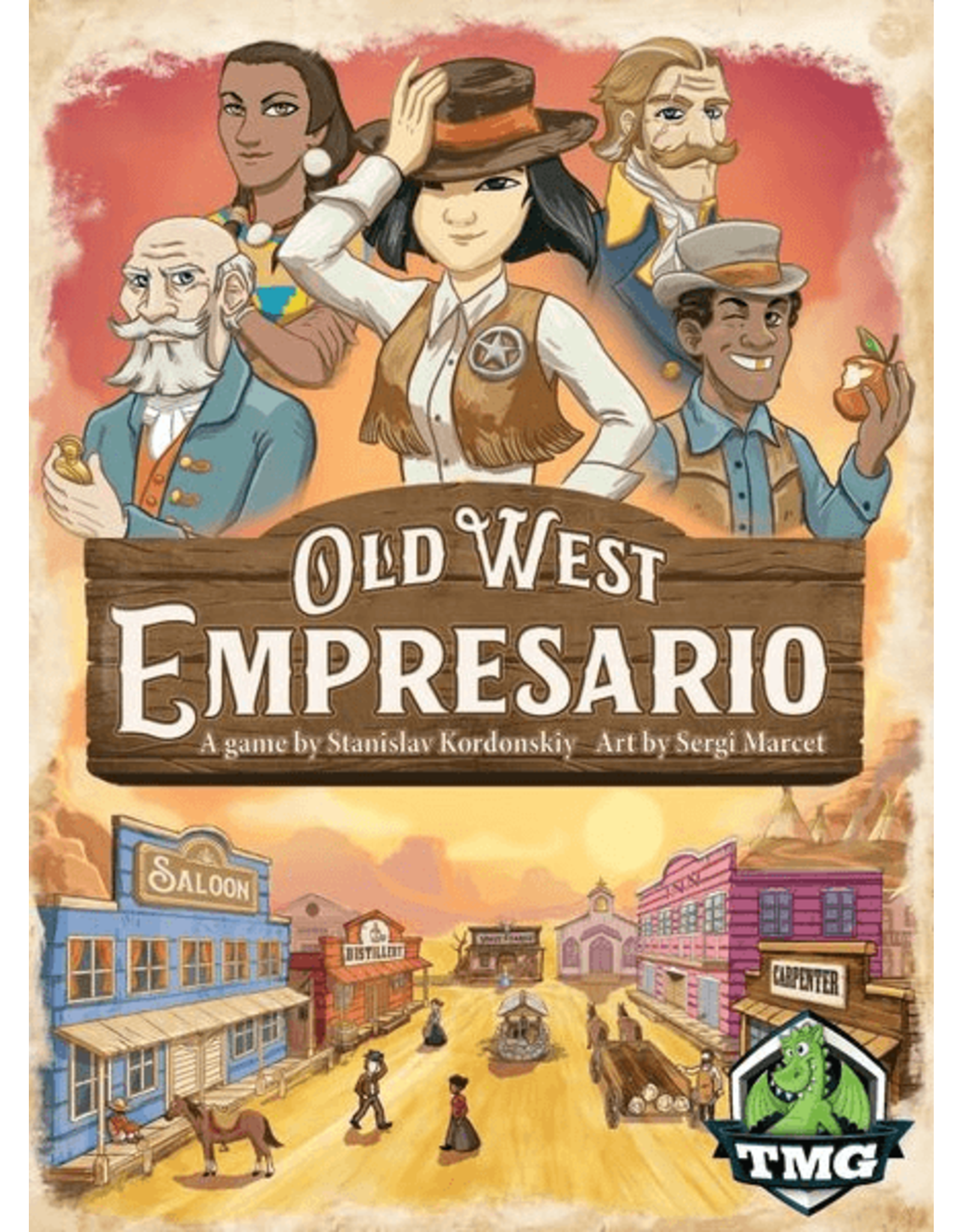 Tasty Minstrel Games Old West Empresario