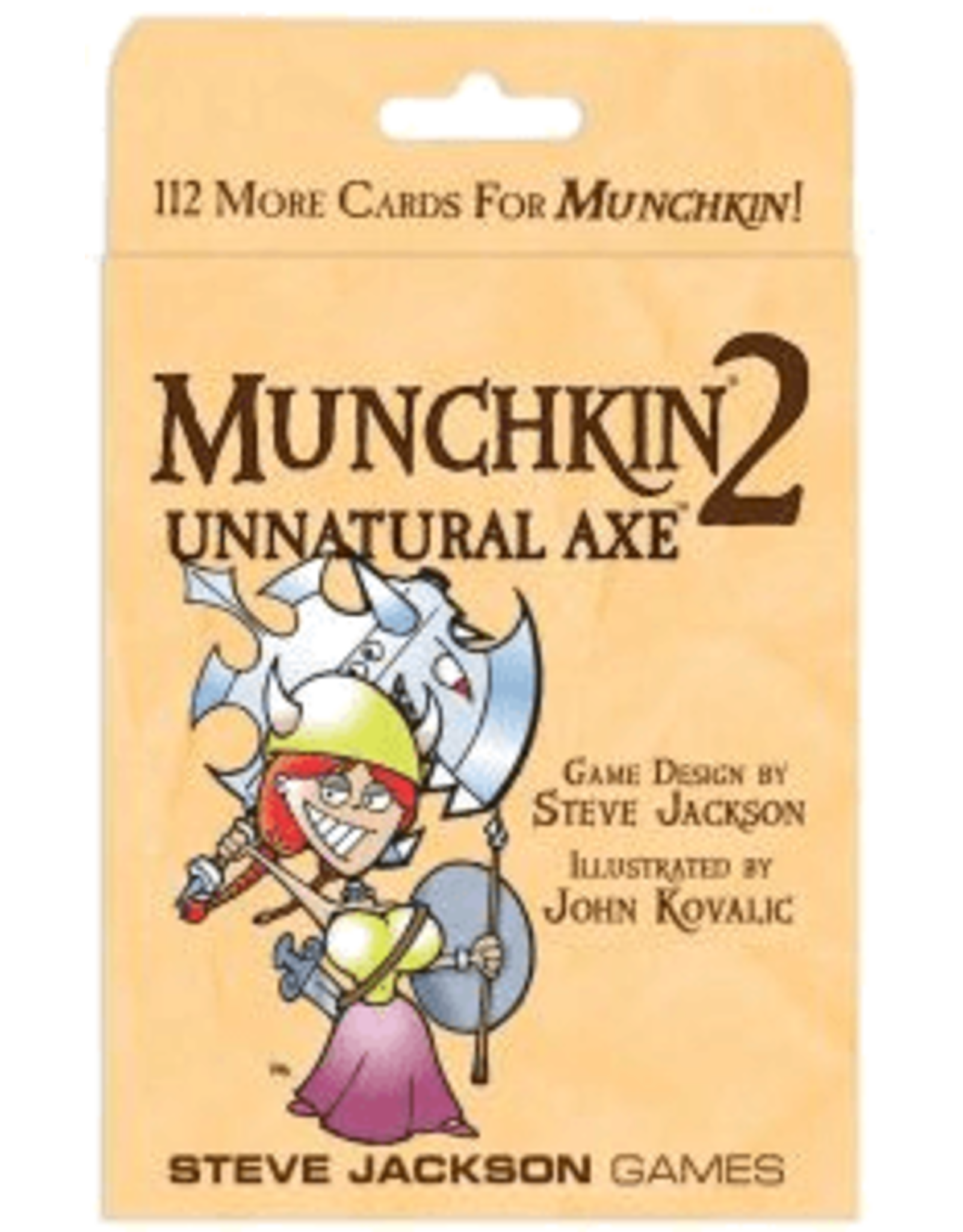 Steve Jackson Games Munchkin 2: Unnatural Axe Expansion