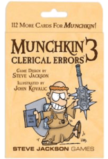 Steve Jackson Games Munchkin 3: Clerical Errors Expansion