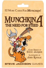 Steve Jackson Games Munchkin 4: The Need for Steed Expansion