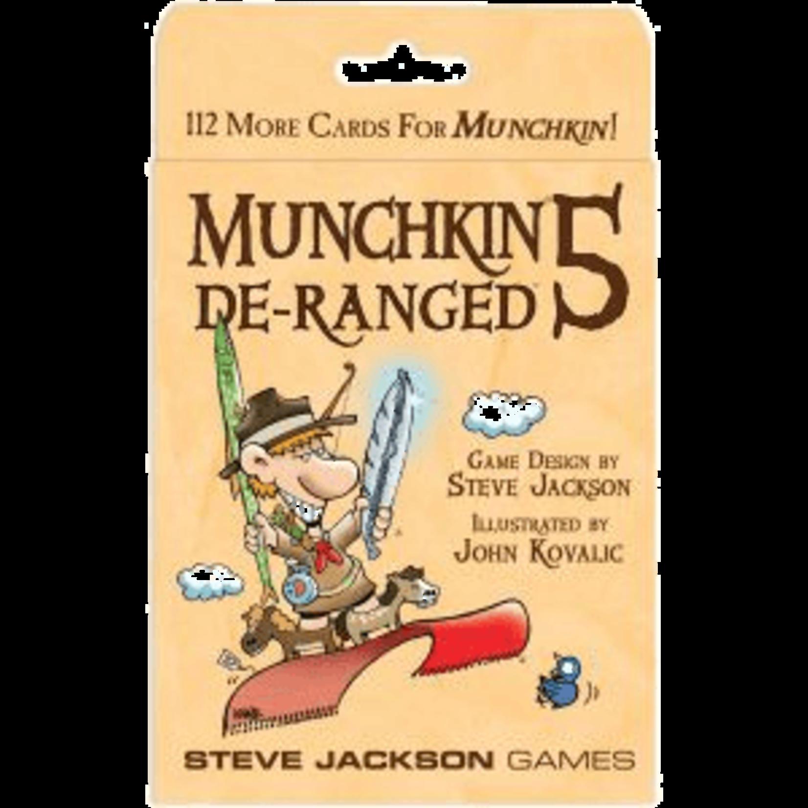 Steve Jackson Games Munchkin 5: De-Ranged Expansion