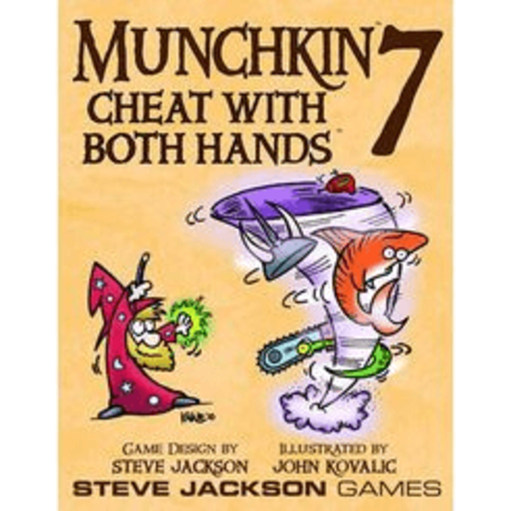 Steve Jackson Games Munchkin 7: Cheat With Both Hands Expansion