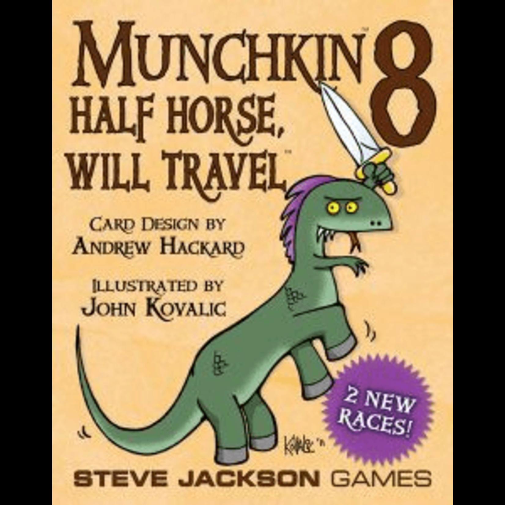 Steve Jackson Games Munchkin 8: Half Horse Will Travel