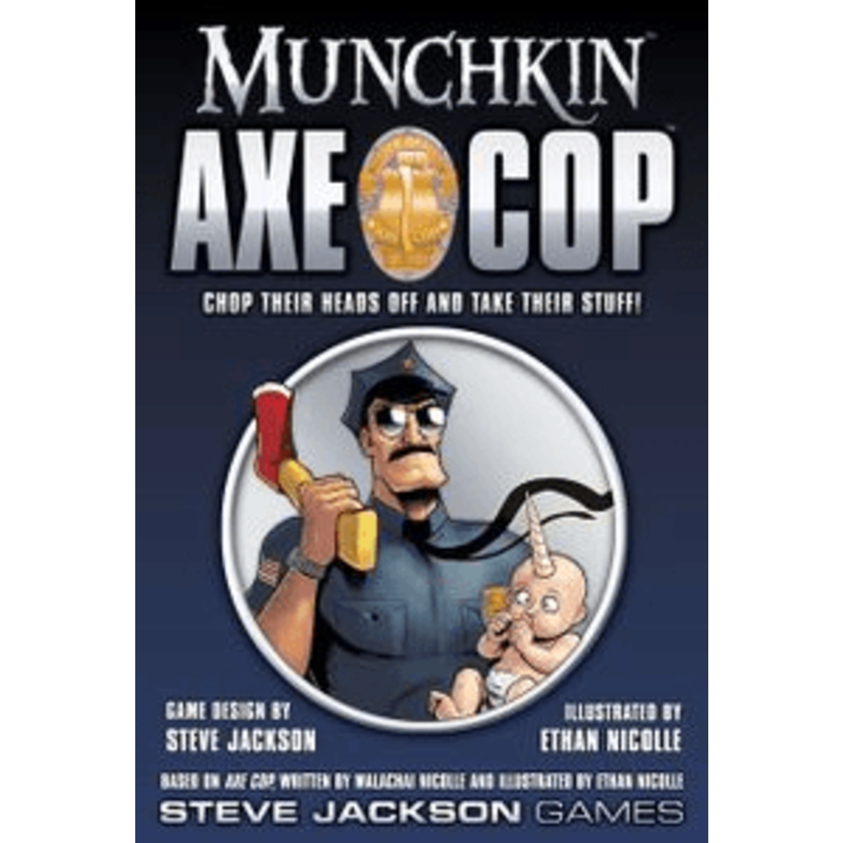 Steve Jackson Games Munchkin Axe Cop