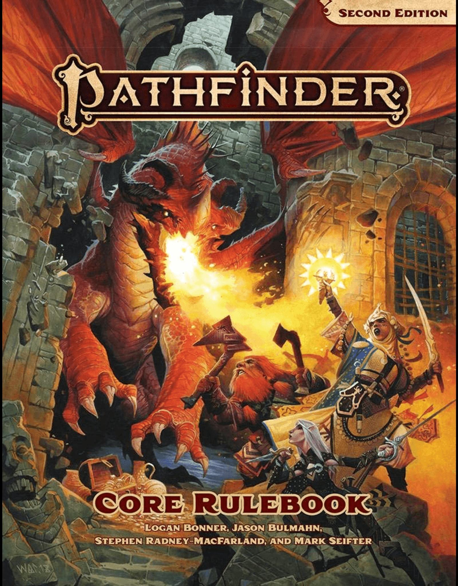 Pathfinder P2: Core Rule Book