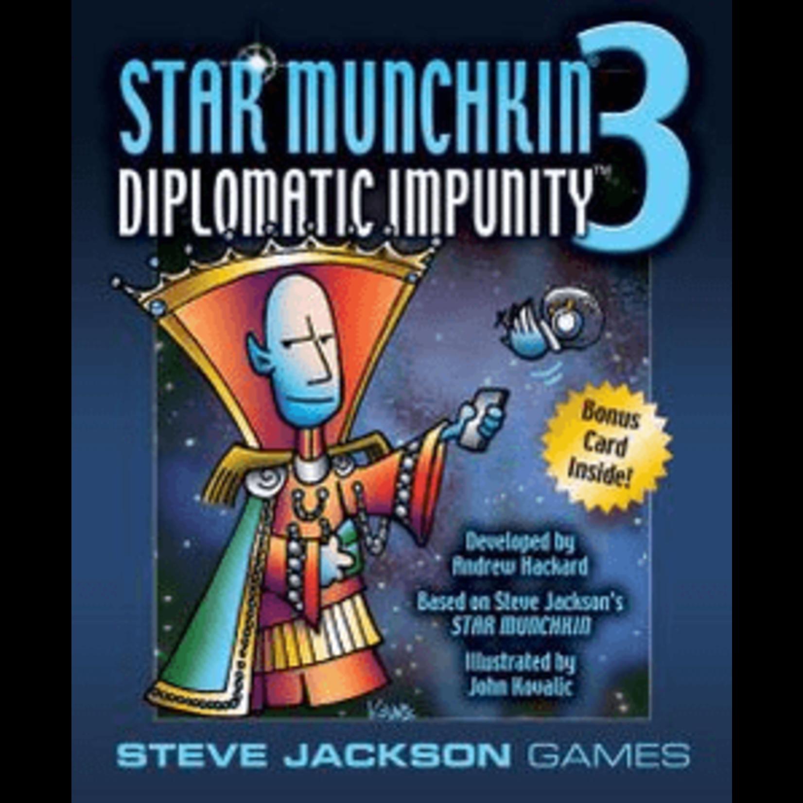 Steve Jackson Games Munchkin Star 3: Diplomatic Impunity