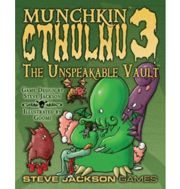 Steve Jackson Games Munchkin Cthulhu 3: The Unspeakable Vault Expansion