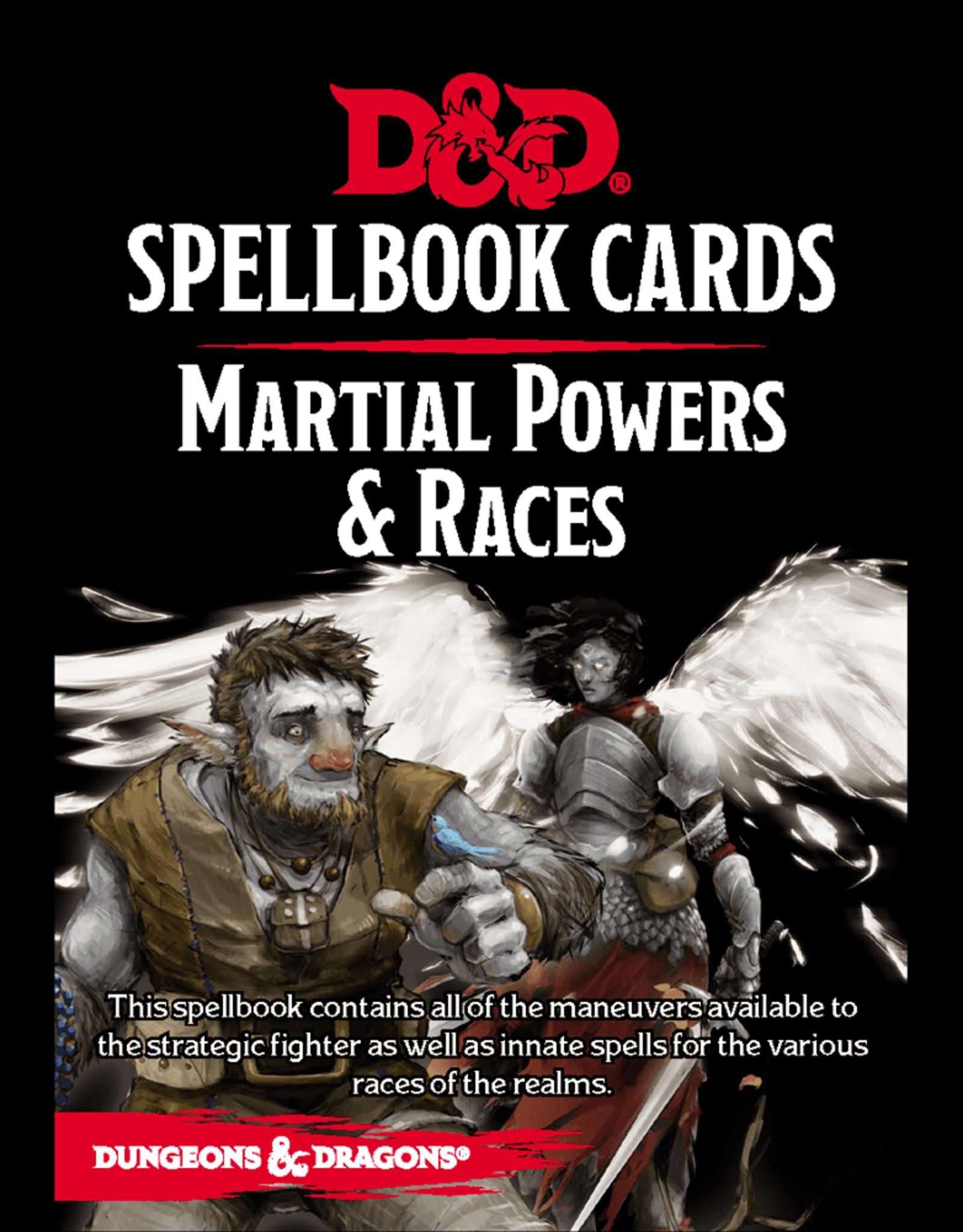 D&D Spellbook Cards: Martial