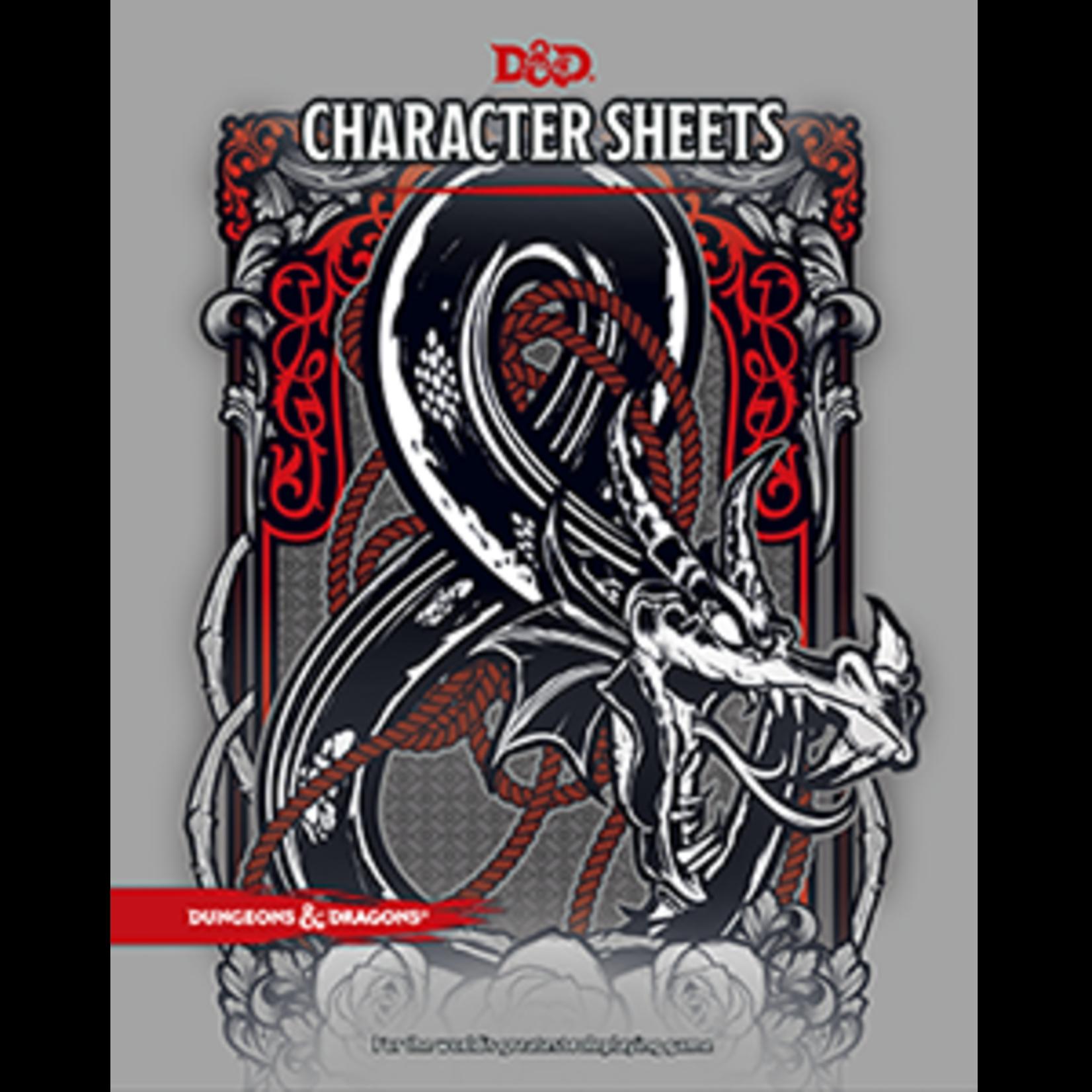 D&D: Character Sheets
