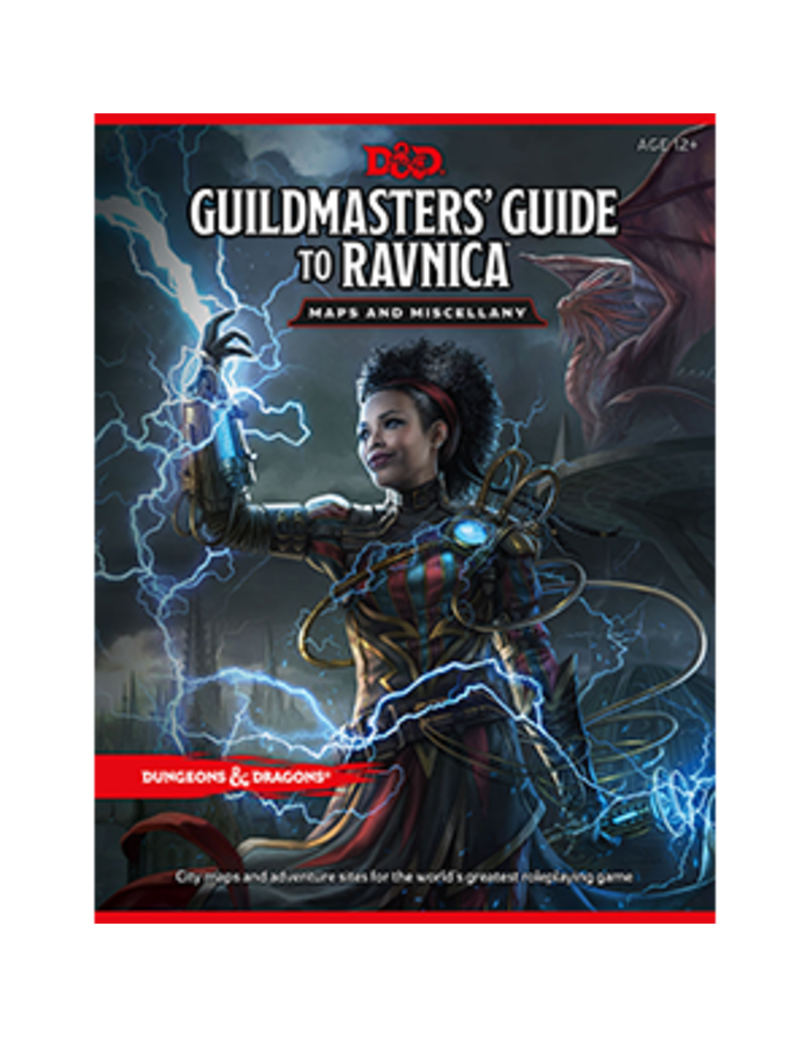 D&D: Guildmasters Guide to Ravnica Map Pk