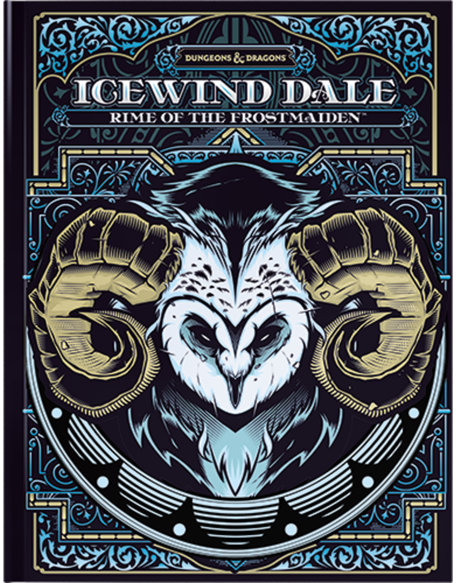 Wizards of the Coast D&D: Icewind Dale - Rise of the Frostmaiden Alt. Cover