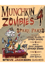 Steve Jackson Games Munchkin Zombies 4: Spare Parts
