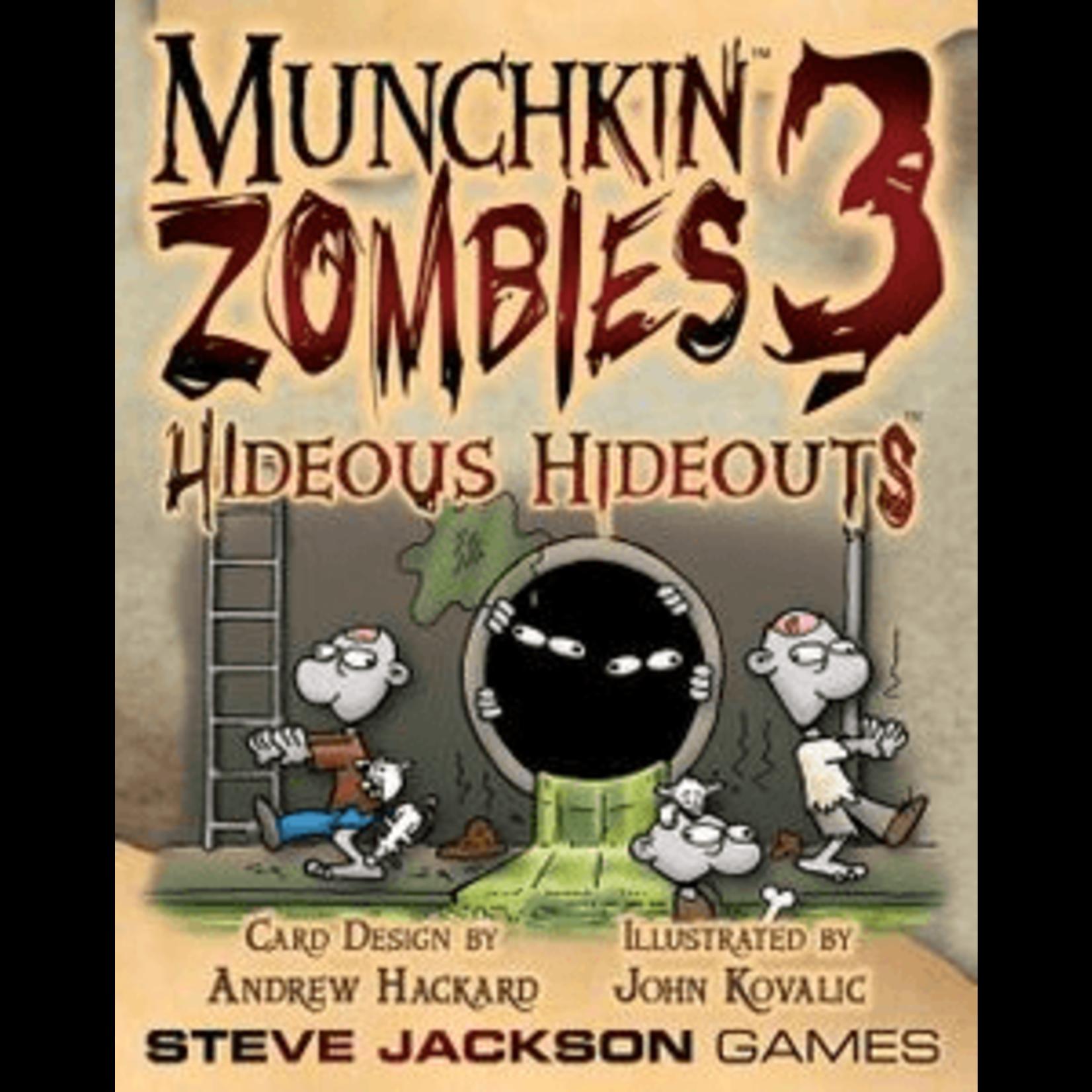 Steve Jackson Games Munchkin Zombies 3: Hideous Hideouts