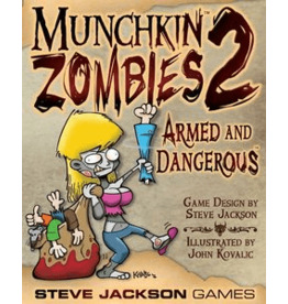 Steve Jackson Games Munchkin Zombies 2: Armed and Dangerous